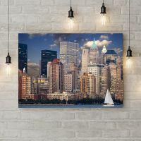 Картина на холсте Laeacco City Metropolis, 50х35 см