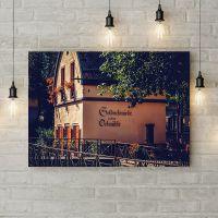 Картина на холсте Домик Goldschmiede, 50х35 см