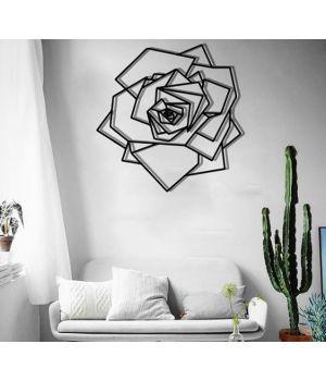 Объемная 3D картина из дерева Роза DC1605315, 49х49 см