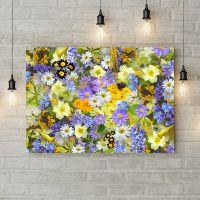 Картина на холсте Разноцветие, 50х35 см