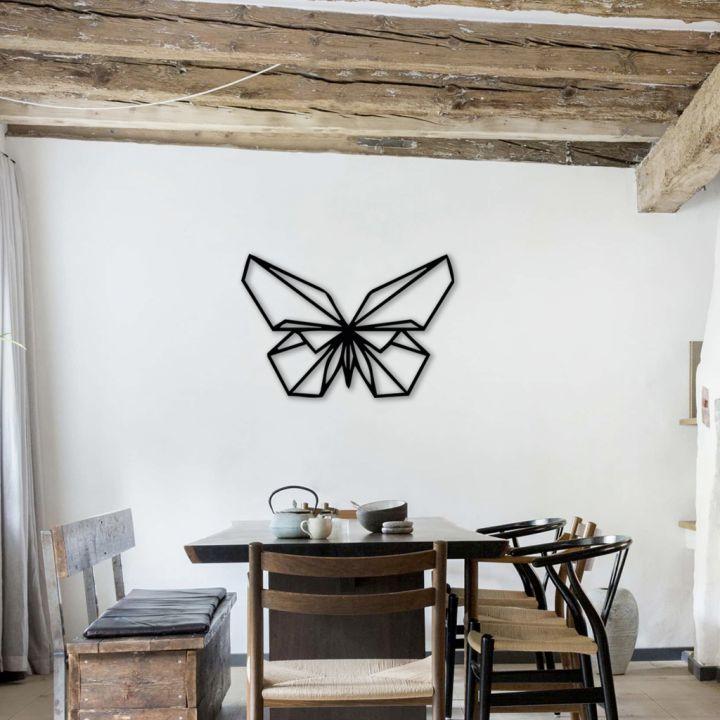 Объемная 3D картина из дерева Объемная 3D картина из дерева Бабочка, 100x68 см