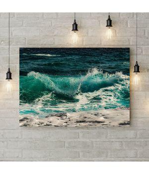 Картина на полотні Хвилі, 50х35 см