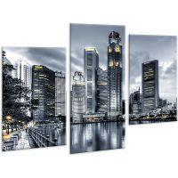 Красива кімнатна модульна картина на полотні AMD 135, 96х70 см