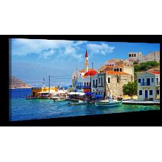 Оригинальная дизайнерская картина XP170, 50х100 см