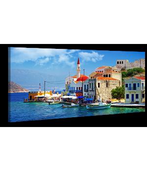 Оригінальна дизайнерська картина XP170, 50х100 см
