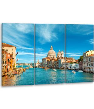 Красивая комнатная модульная картина на холсте AMD 151, 96х70 см