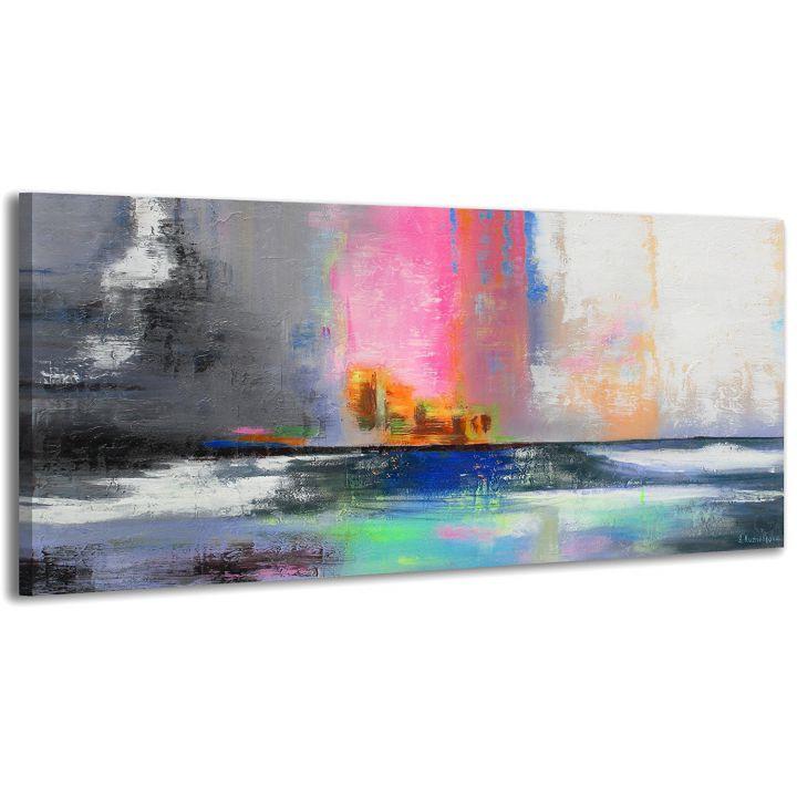 Картина на холсте RRH017, 50x100 cм