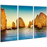 Красивая комнатная модульная картина на холсте Ocean AMD 031, 96х70 см