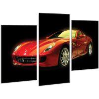 Красива кімнатна модульна картина на полотні Car AMD 032, 96х70 см