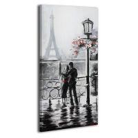 Картина на холсте RRH085, 50x100 cм
