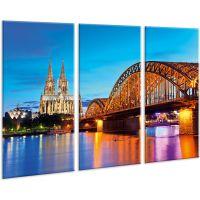 Красива кімнатна модульна картина на полотні City AMD 023, 96х70 см