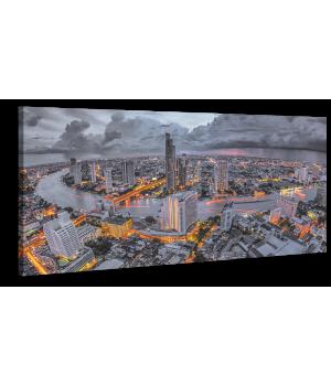 Оригінальна дизайнерська картина XP165, 50х100 см