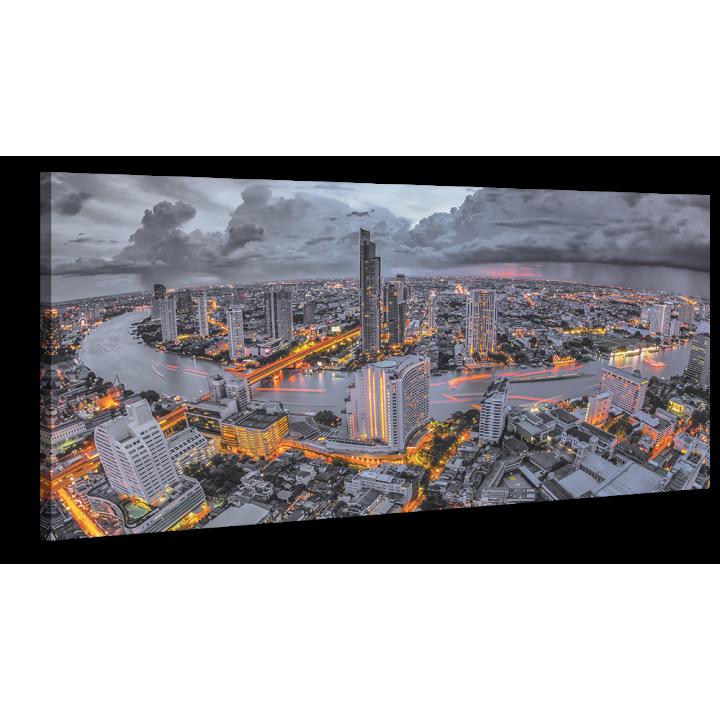 Оригинальная дизайнерская картина XP165, 50х100 см