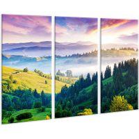 Красива кімнатна модульна картина на полотні AMD 123, 96х70 см