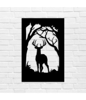 40х27 см, 3Д Картина из дерева, 78106