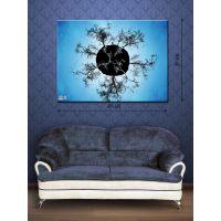 Картина на холсте 30х40 Древесный каламбур