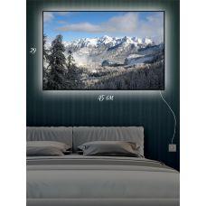 Картина с подсветкой 29х45 Альпийская свежесть