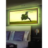 LED Картина Гнущееся дерево