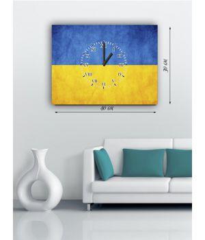 Часы-картина 30х40 на холсте 116