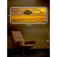 Картина з підсвіткою 29х69 Самотнє деревце