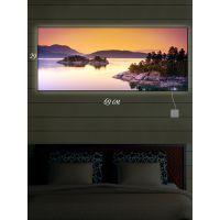 Картина с подсветкой 29х69 Острова Надежды