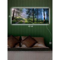Картина с подсветкой 29х69 Шишкин лес