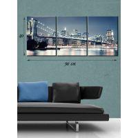Модульная картина на холсте Нью-Йоркский мост