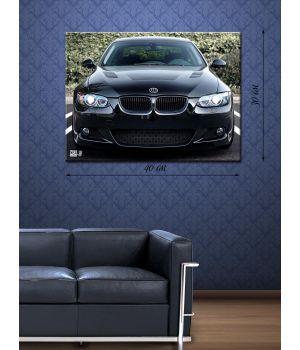 Картина на холсте 30х40 BMW