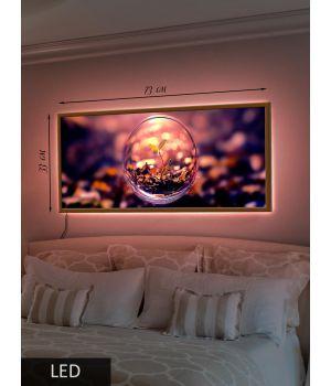 LED Картина В пузыре