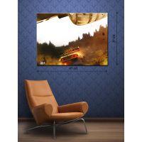 Картина на холсте 30х40 Тойота-Ралли