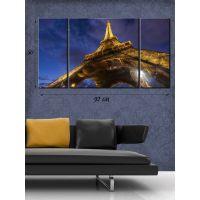 Модульная картина на холсте Романтический Париж