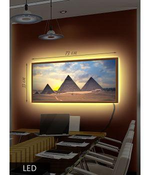 LED Картина Восход солнца в Египте