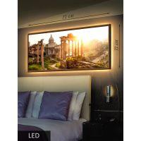 LED Картина Призрачная архитектура