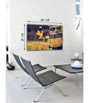 Картина на холсте 30х40 Wall-E