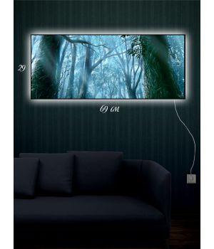 Картина с подсветкой 29х69 Тайны лесного народа