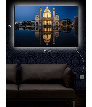 Картина с подсветкой 29х45 Царская резиденция