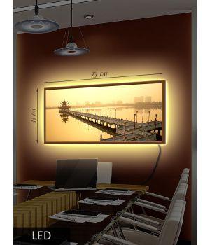 LED Картина Восточный помост