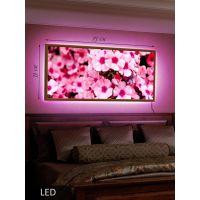 LED Картина Густое цветение