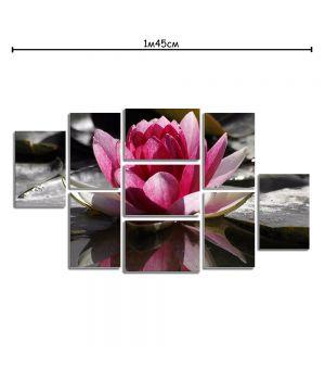 Модульная картина для дома с принтом Лилия