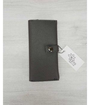 Женский кошелек серый, 76400