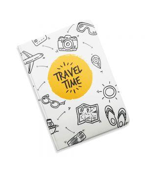 Красивая обложка холдер для паспорта, 5 в 1 Время путешествий