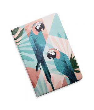 Красивая обложка холдер для паспорта, 5 в 1 Попугай