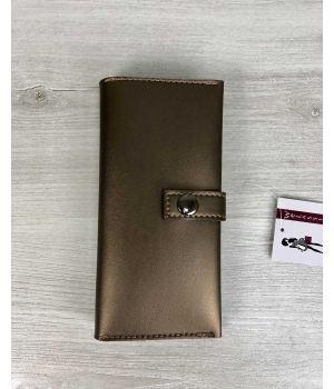 Женский кошелек бронзовый, 76404