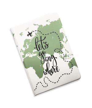 Красивая обложка холдер для паспорта, 5 в 1 Поехали куда то