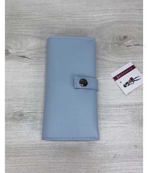 Женский кошелек голубой, 76399