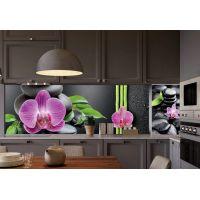Наклейка Кухонный фартук 65х250 см Гармония черный