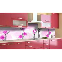 Наклейка виниловая кухонный фартук 60х250 см Невесомость