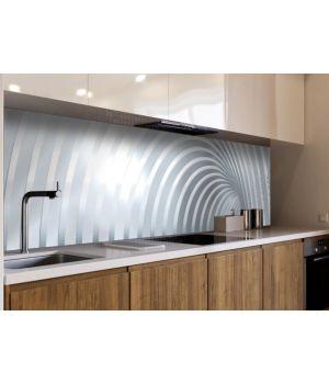 Наклейка вінілова кухонний фартух 65х250 см Дуги