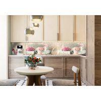 Наклейка Кухонный фартук 65х250 см Прекрасное утро розовый