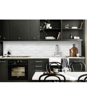 Кухонный фартук 65х250 см Текстура 02 серый